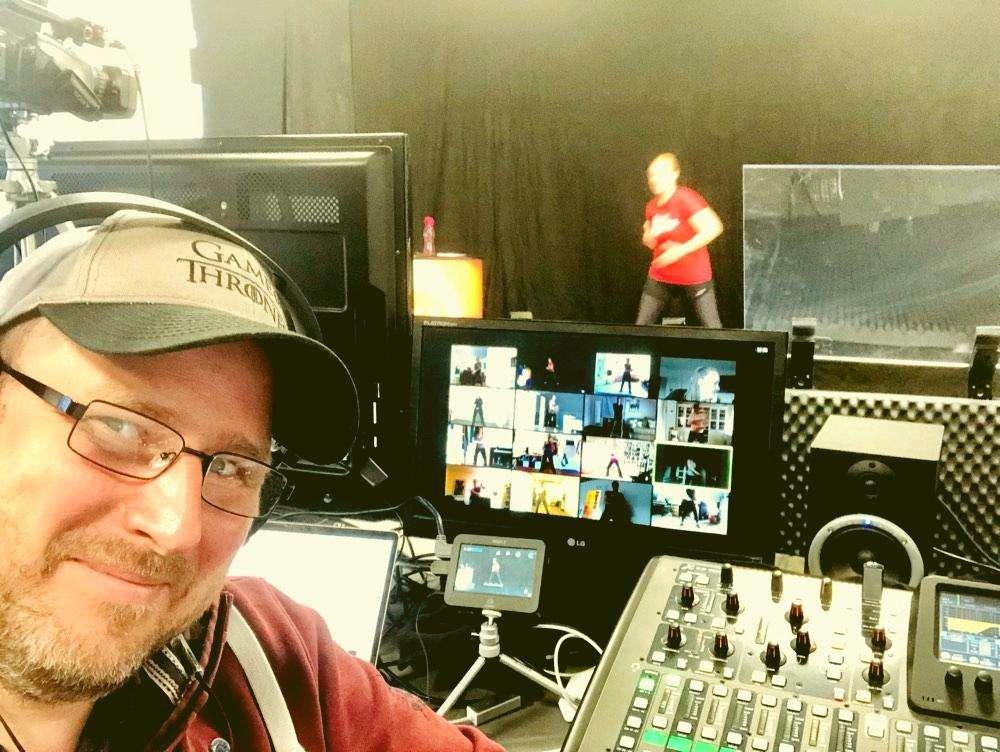 Corona TV Studio der Musicalschule Ahrensburg