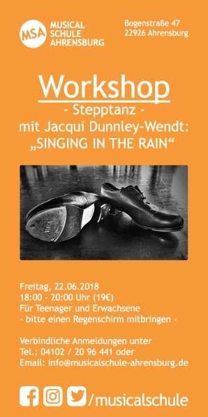 Stepptanz Workshop Ahrensburg