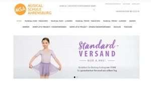 Onlineshop der Musicalschule Ahrensburg